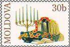 № P115 - Menorah and Jewish Altar