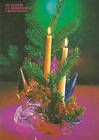 Candles and Christmas Decorations (№ P1)