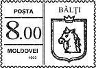Bălți (Numerals on the Left)