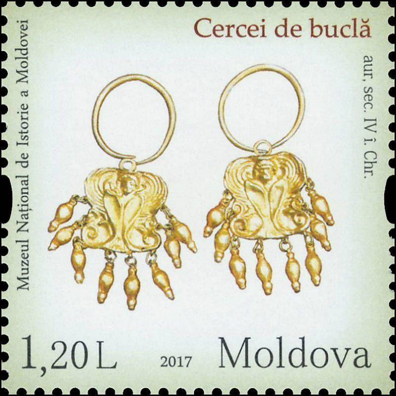 Earrings. Scythian culture