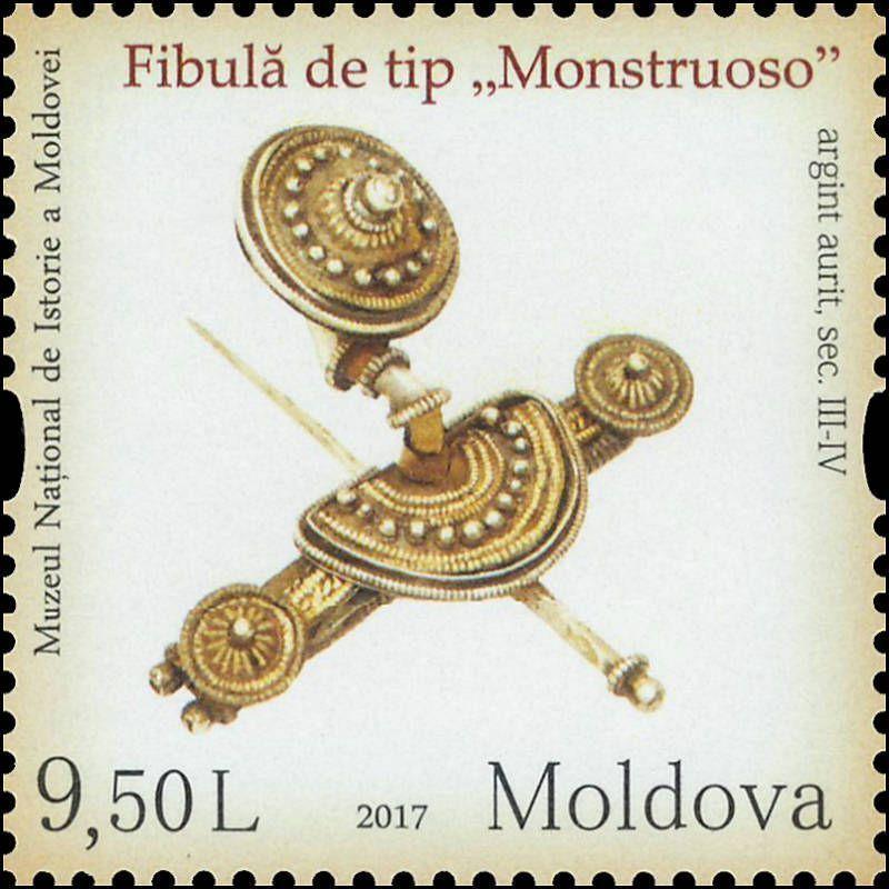 «Monstruoso» Fibula (Brooch). Sântana de Mureş-Cerneahov Culture