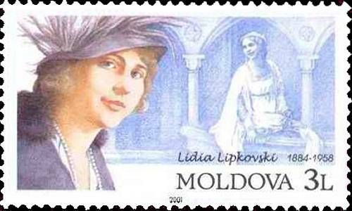 Lydia Lipkowska (Opera Singer). 1884-1958