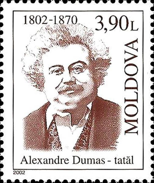 Alexandre Dumas (1802-1870). French Novelist and Playwright