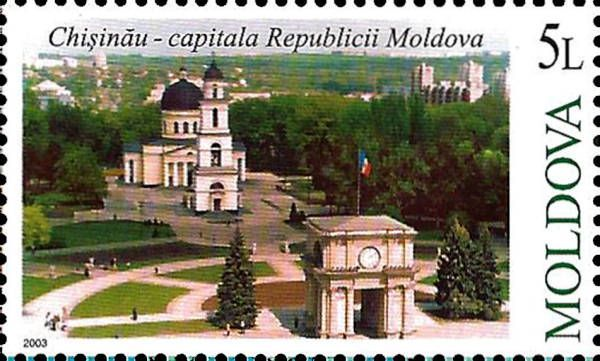 Chisinau, the Capital of Moldova
