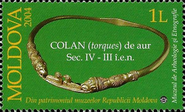 Gold Collar (IV-III cent. BC). Discovered in a Scythian Tomb