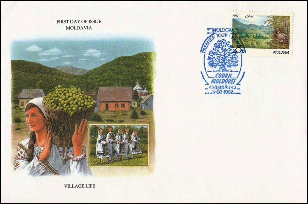 Cachet: Village Life