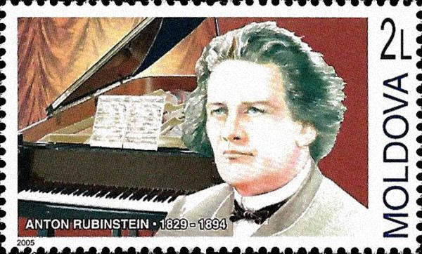Anton Rubinstein (1829-1894). Composer, Conductor and Pianist