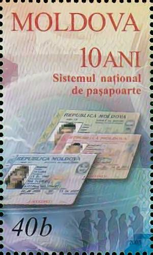 Identity Card for a Moldovan Citizen