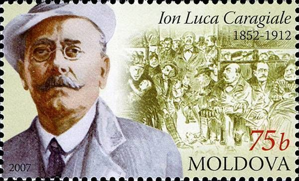Ion Luca Caragiale (1852-1912). Playwright, Writer and Poet
