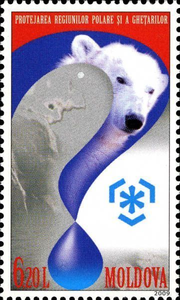 Allegory of Polar Regions and Polar Bear