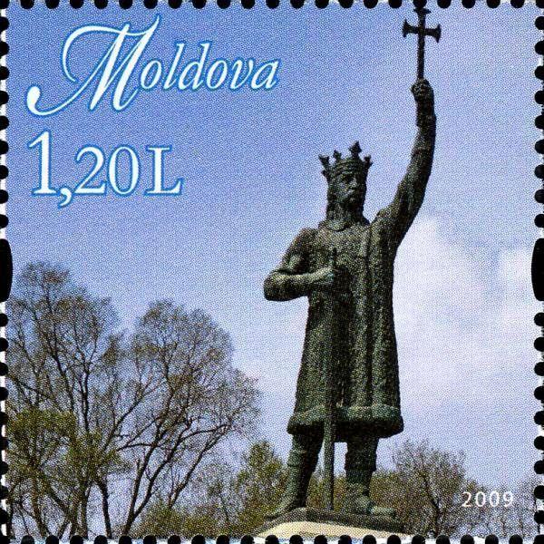 Statue of Stefan cel Mare