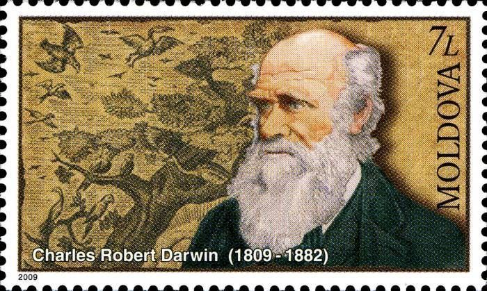 Charles Darwin (1809-1882).  Naturalist and Writer