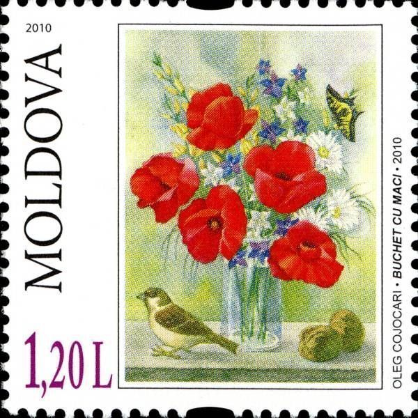 «Bouquet of Poppies» by Oleg Cojocari (2010)