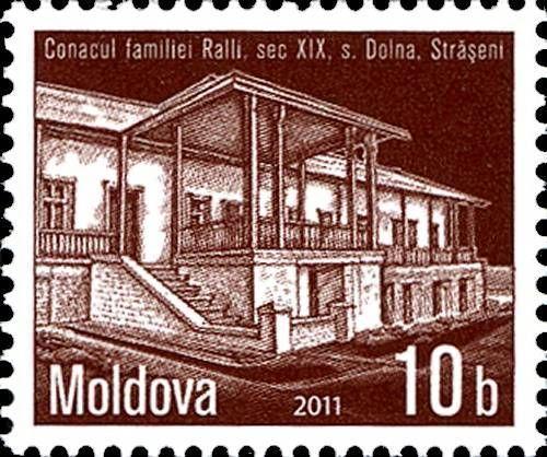 The Ralli Family Mansion. Dolna, Strășeni