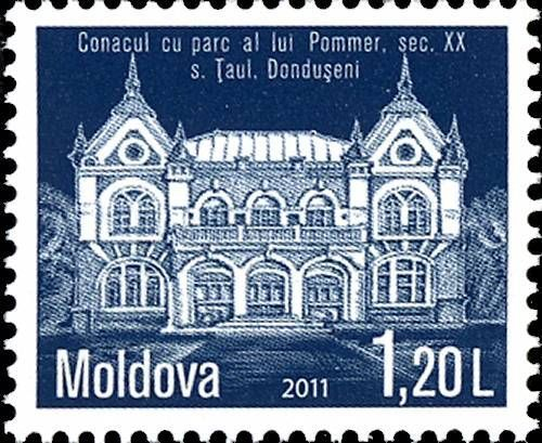 The Pommer Mansion and Estate. Dondușeni