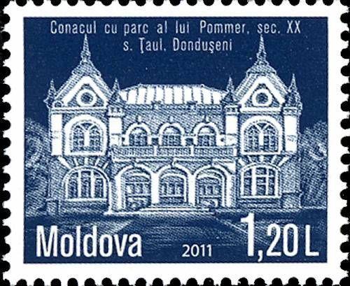 The Pommer Mansion and Estate. Dondușeni