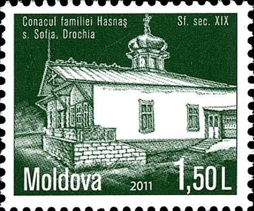 The Hasnaș Family Mansion. Sofia, Drochia