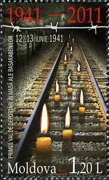 Railway Tracks and Candles