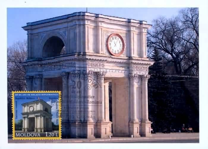 The Triumphal Arch in Chişinău