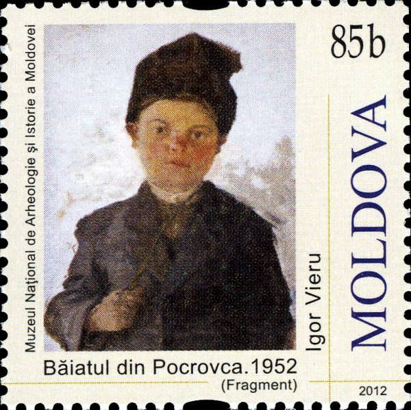 «Boy from Pocrovca» (1952) by Igor Vieru