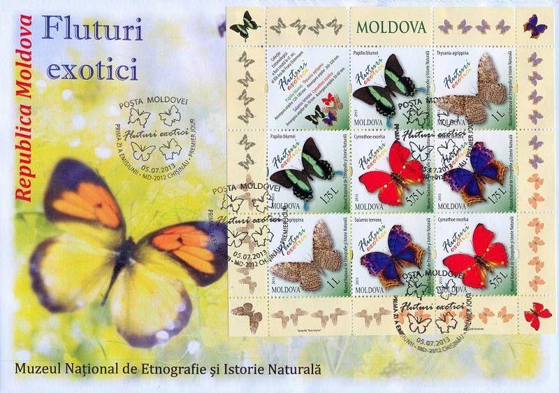 Cachet: Butterflies