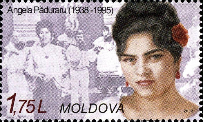 Angela Păduraru (1938-1995), Folk Singer