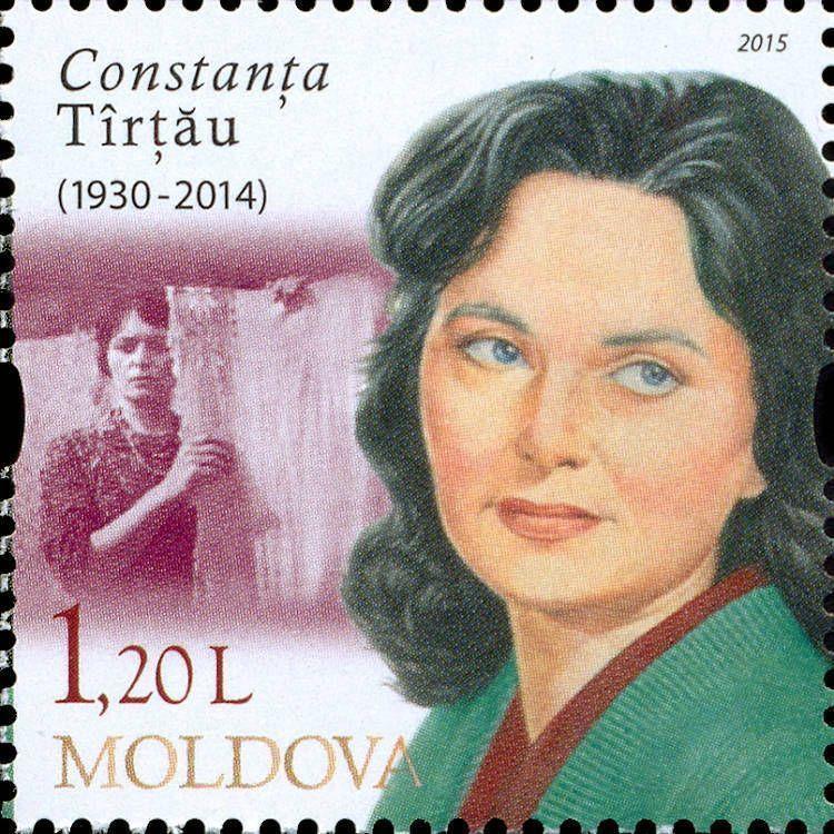 Constanța Tîrțău (1930-2014), Actress and TV Presenter
