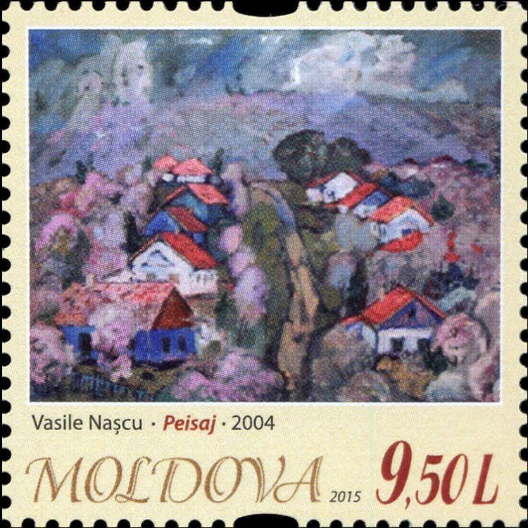 «Landscape» by Vasile Naşcu (2004)