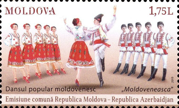 Traditional Dance of Moldova «Moldoveneasca»