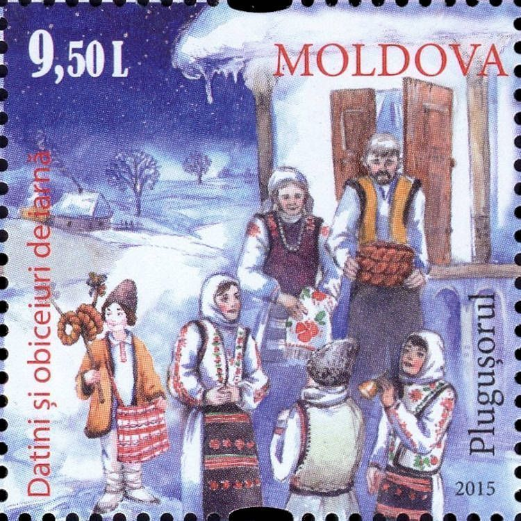 Tradition of the «Plugușorul» (Little Plough)