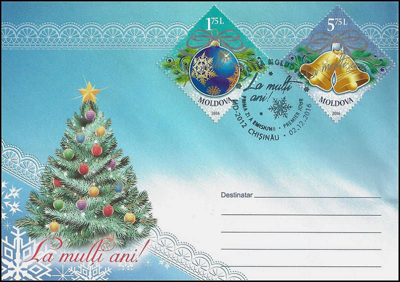 Cachet: Christmas Tree