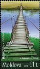 № 1032 (11.00 Lei) Wooden Bridge at Pohorniceni, Orhei