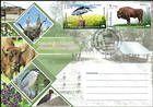 № 1037-1040 FDC3 - Fauna from the «Pădurea Domnească» (Princely Forest) Nature Reserve 2018