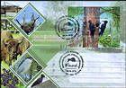 № Block 79 (1041) FDC2 - Fauna from the «Pădurea Domnească» (Princely Forest) Nature Reserve 2018