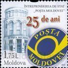 Emblem and Headquarters of Poșta Moldovei