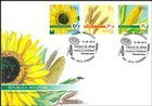 Sunflower, Wheat and Maize