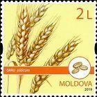 № 1114 (2.00 Lei) Wheat (Triticum)