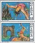 № 26-27Zd - Olympic Games, Barcelona, 1992 1992