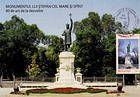 № 271 MC1 - Ştefan cel Mare Monument (1928). Sculptor - Alexandru Plămădeală. Chişinău