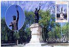 № 271 MC2 - Ştefan cel Mare Monument (1928). Sculptor - Alexandru Plămădeală. Chişinău