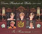 № Block 17 (282-286) - Diana. Princess of Wales - In Memoriam 1998