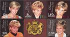 № 282-286Zd - Diana. Princess of Wales - In Memoriam 1998