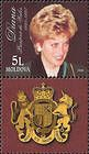 № 286Zf - Diana. Princess of Wales - In Memoriam 1998