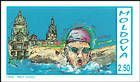 № 29P (2.50 Rubles) Swimming (Blue Text)