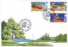 № 337-339 FDC - From The Red Book of the Republic of Moldova: Fauna 1999