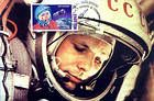 № 383 MC2 - 40th Anniversary of the First Manned Space Flight - Yuri Gagarin 2001