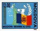 Moldovan Flag and Symbols of the UNO