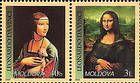 № 434+436Zd - 550th Birth Anniversary of Leonardo da Vinci 2002