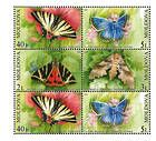 № 459-462 Hb - Butterflies and Moths (II) 2003