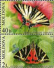 № 459+460Zd - Butterflies and Moths (II) 2003